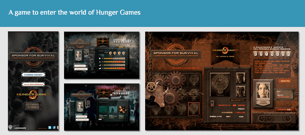 hunger games format case studies