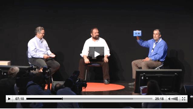 Massimo Banzi and Brian Krzanich Galileo Video Makerfairerome