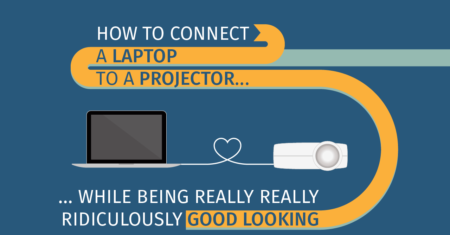 How to Connect Your PC or Mac Laptop to a Projector (+ BONUS SHORTCUTS)