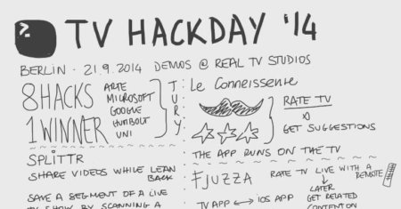 Visual notes from the TV Hackday '14 in #Berlin