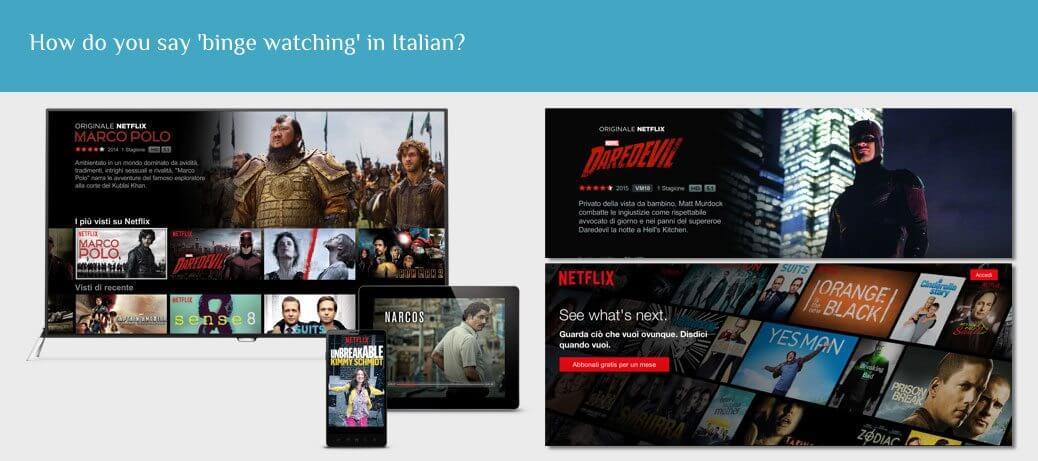 Netflix Italy Case Study