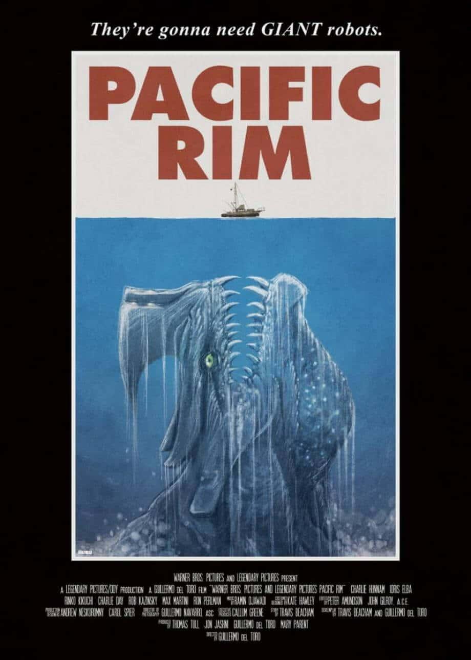 Pacific Rim Fan Poster