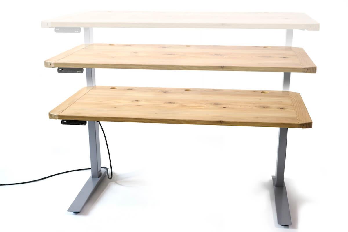Animation Front Integral Desk
